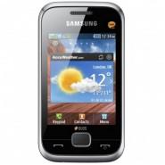 Мобильный телефон Samsung Duos C3312 Metallic Silver