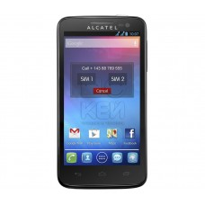 Мобильный телефон Alcatel One Touch X'Pop 5035D Black  UACRF